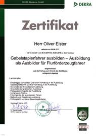 Ausbildung Ladungssicherung nach VDI   SZE Donaueschingen